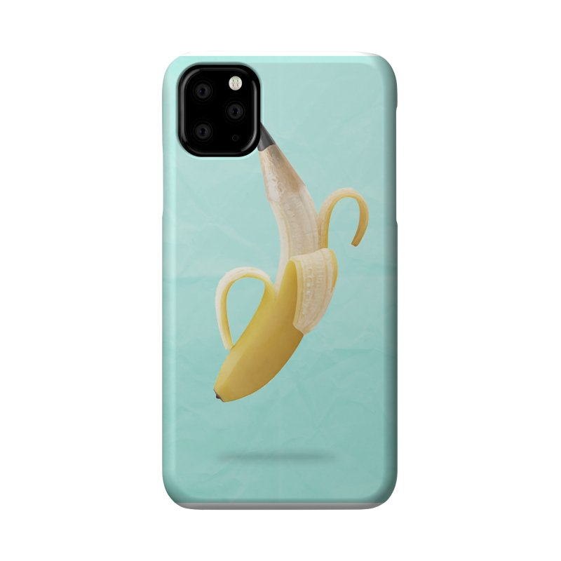 Banana Pencil Accessories Phone Case by Vin Zzep's Artist Shop
