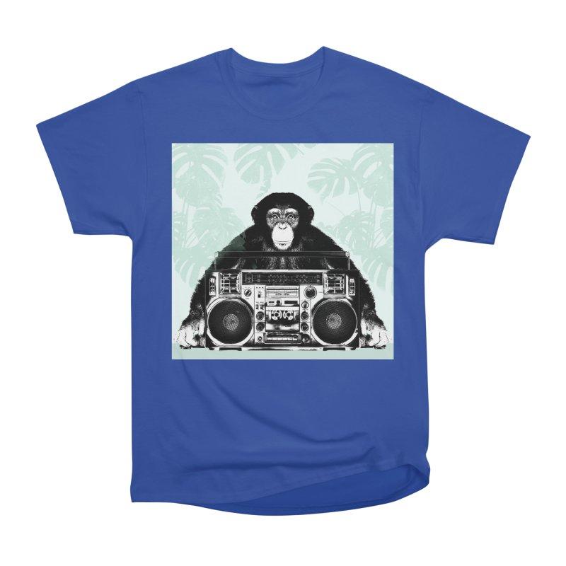 Jungle Music Women's Heavyweight Unisex T-Shirt by Vin Zzep's Artist Shop