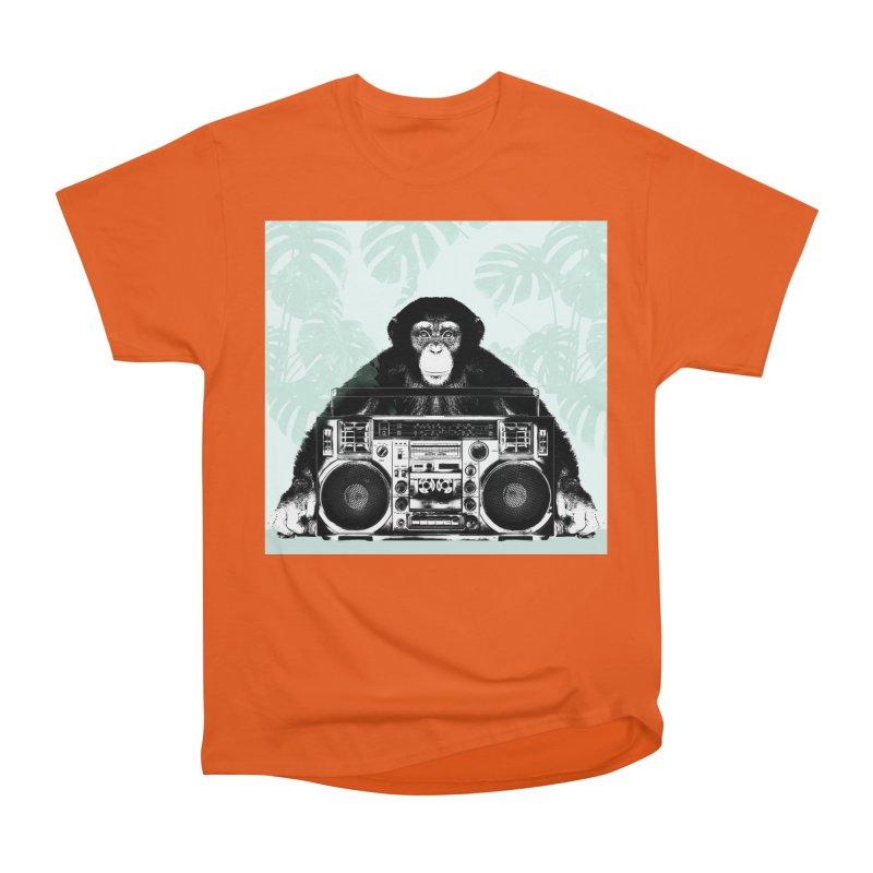 Jungle Music Men's Heavyweight T-Shirt by Vin Zzep's Artist Shop