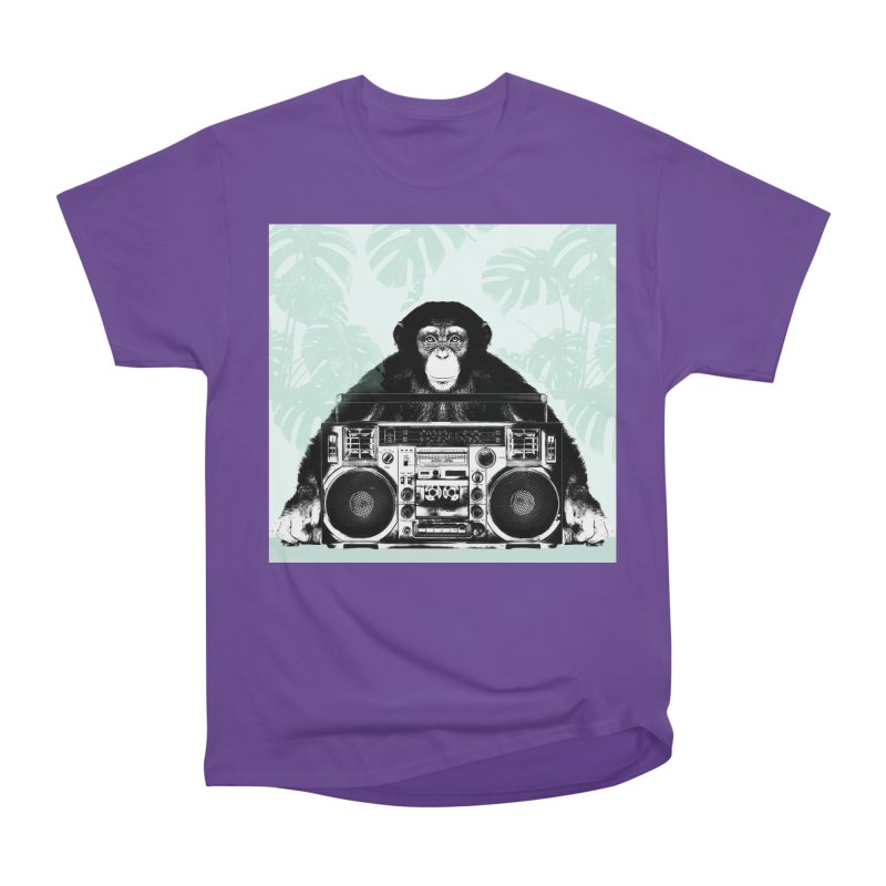 Jungle Music Men's Heavyweight T-Shirt by Vin Zzep's Artist Shop