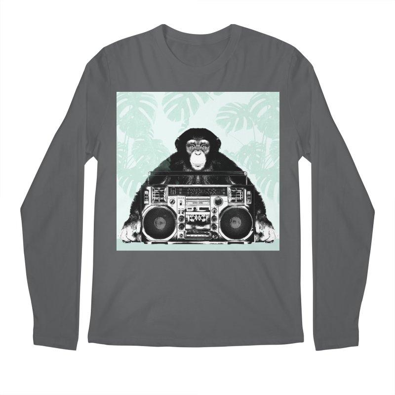 Jungle Music Men's Longsleeve T-Shirt by Vin Zzep's Artist Shop
