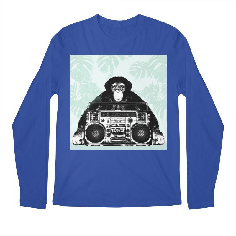 Jungle Music Men's Regular Longsleeve T-Shirt by Vin Zzep's Artist Shop