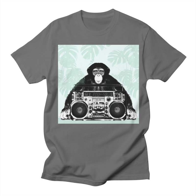 Jungle Music Men's T-Shirt by Vin Zzep's Artist Shop