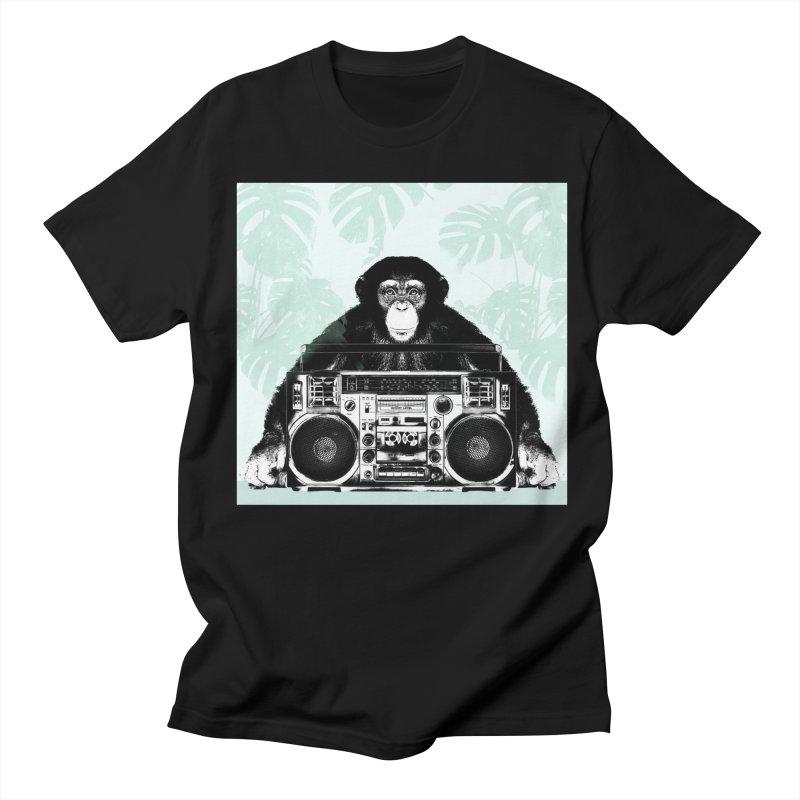 Jungle Music Women's Regular Unisex T-Shirt by Vin Zzep's Artist Shop