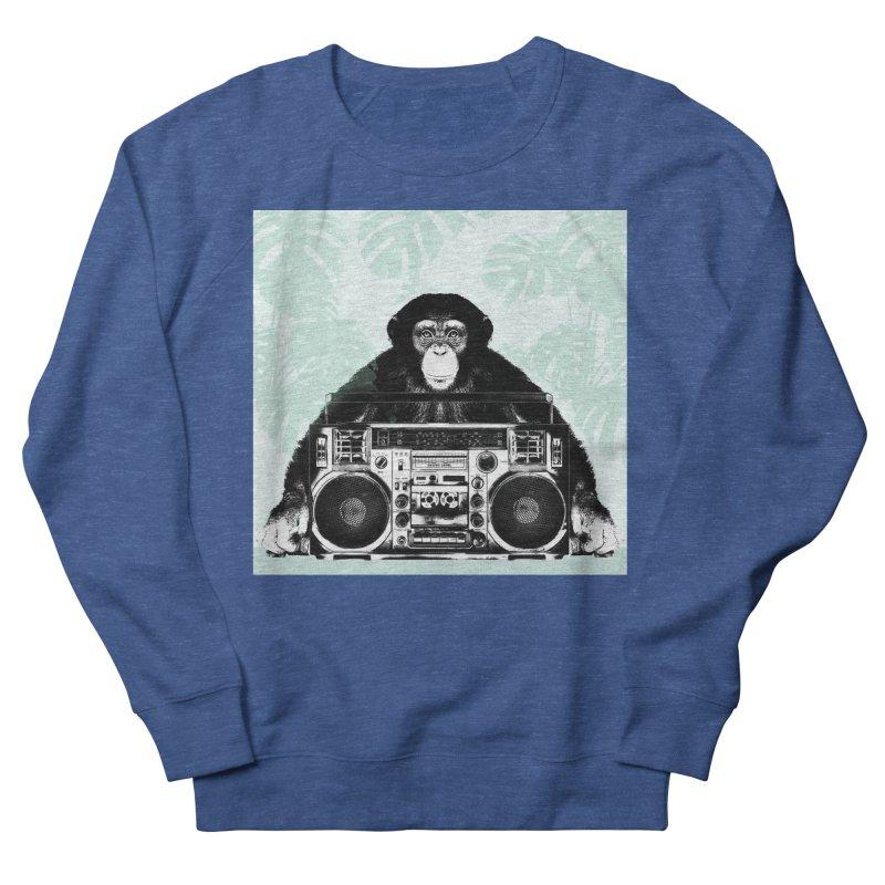 Jungle Music Men's Sweatshirt by Vin Zzep's Artist Shop