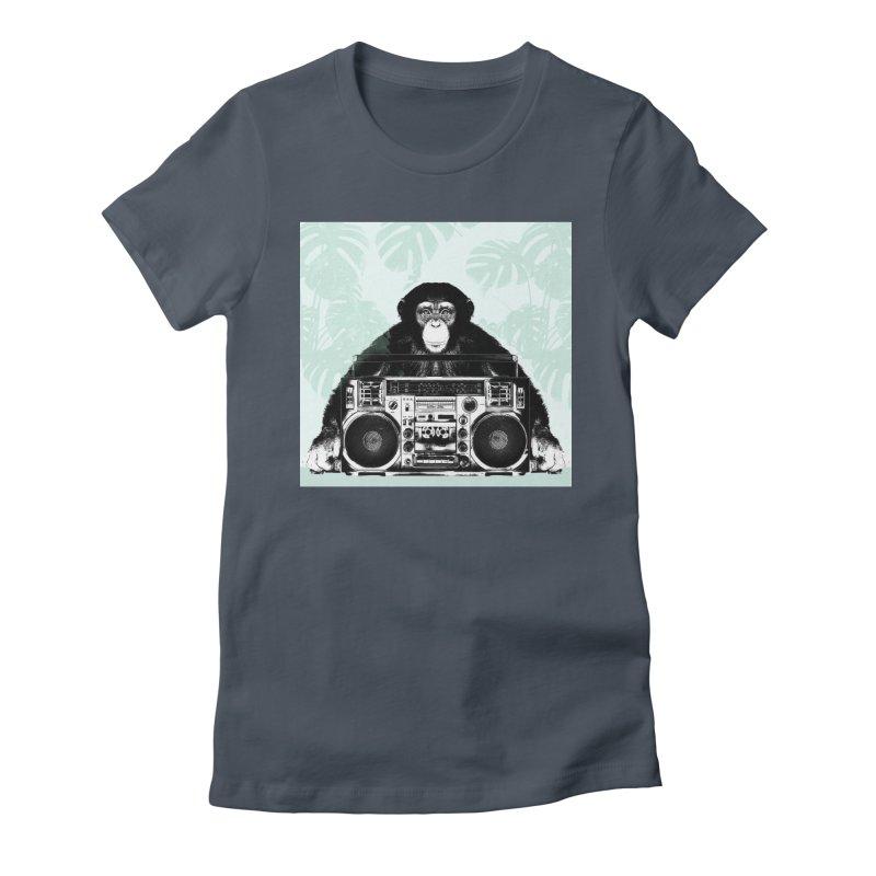 Jungle Music Women's T-Shirt by Vin Zzep's Artist Shop
