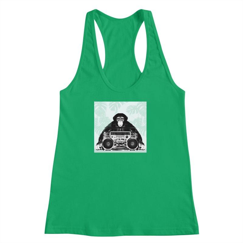 Jungle Music Women's Tank by Vin Zzep's Artist Shop