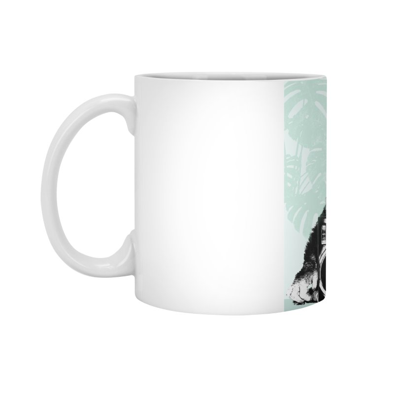 Jungle Music Accessories Standard Mug by Vin Zzep's Artist Shop