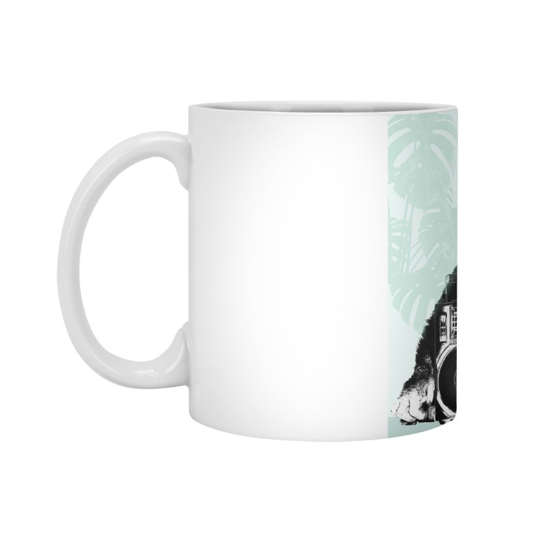 Jungle Music Accessories Mug by Vin Zzep's Artist Shop