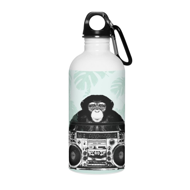 Jungle Music Accessories Water Bottle by Vin Zzep's Artist Shop