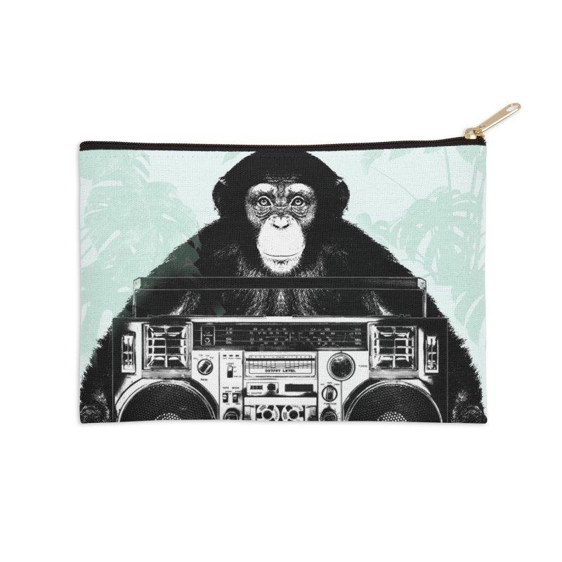 Jungle Music Accessories Zip Pouch by Vin Zzep's Artist Shop