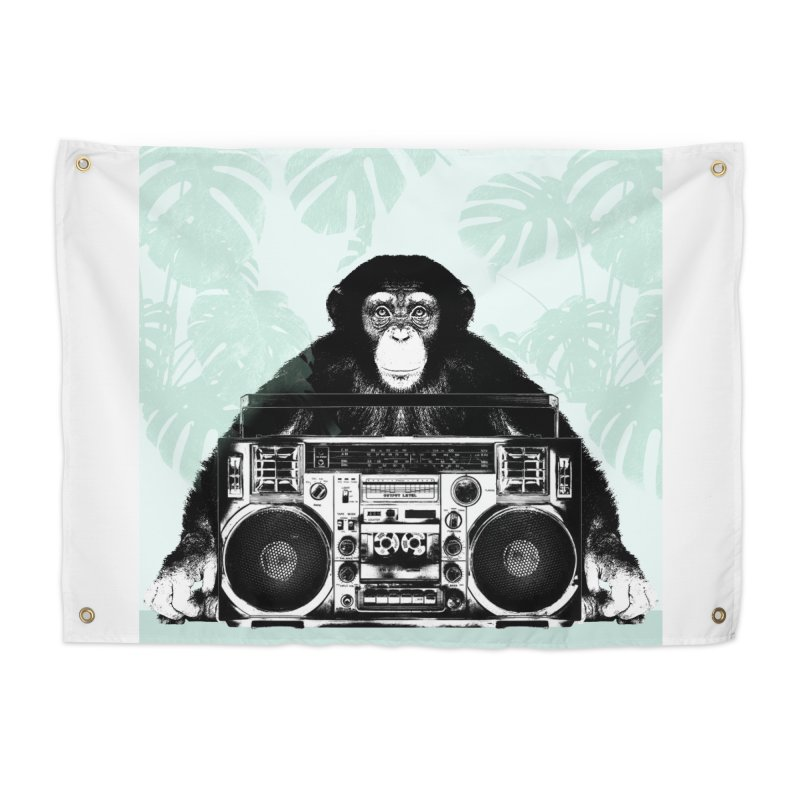 Jungle Music Home Tapestry by Vin Zzep's Artist Shop
