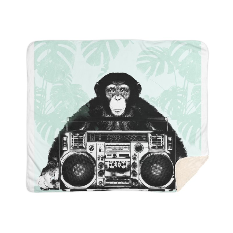 Jungle Music Home Blanket by Vin Zzep's Artist Shop