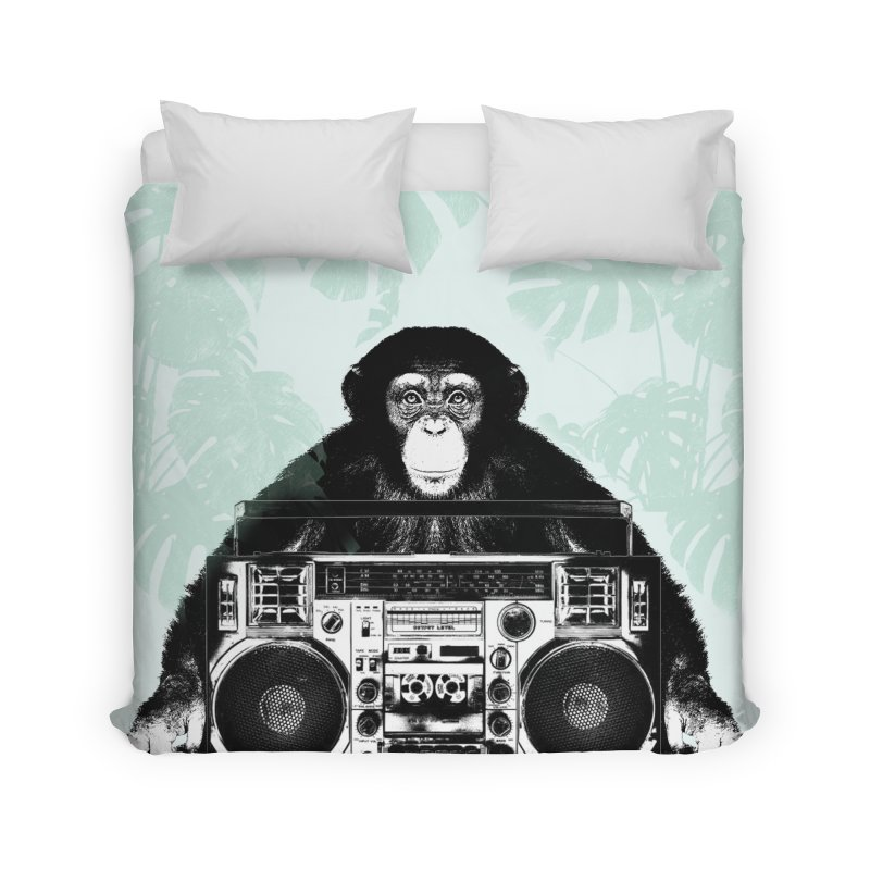 Jungle Music Home Duvet by Vin Zzep's Artist Shop