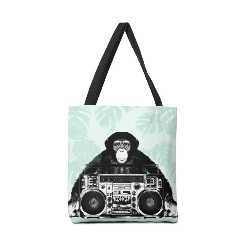 Jungle Music Accessories Tote Bag Bag by Vin Zzep's Artist Shop