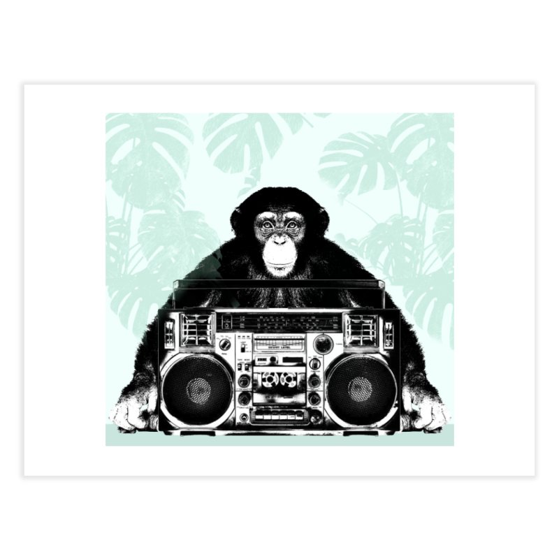 Jungle Music Home Fine Art Print by Vin Zzep's Artist Shop