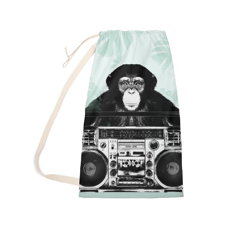 Jungle Music Accessories Laundry Bag Bag by Vin Zzep's Artist Shop