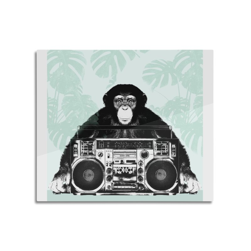 Jungle Music Home Mounted Aluminum Print by Vin Zzep's Artist Shop