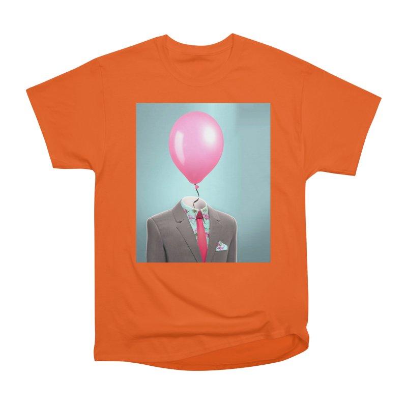 Balloon head and Flamingo shirt Men's T-Shirt by Vin Zzep's Artist Shop