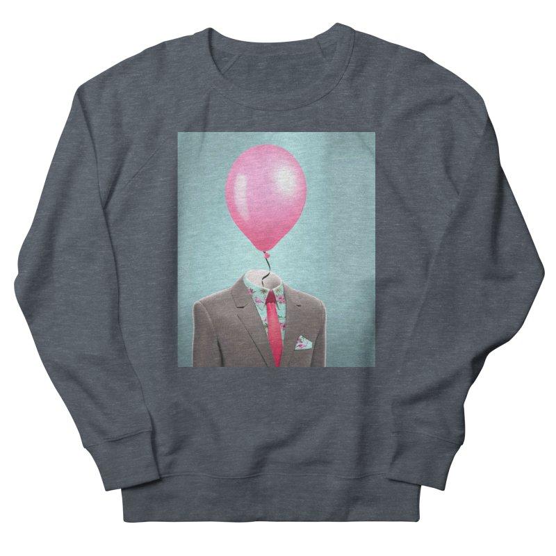 Balloon head and Flamingo shirt Men's Sweatshirt by Vin Zzep's Artist Shop
