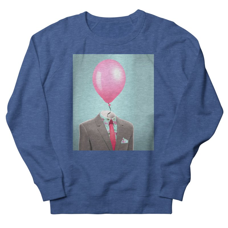 Balloon head and Flamingo shirt Men's Sweatshirt by Vin Zzep's Artist Shop