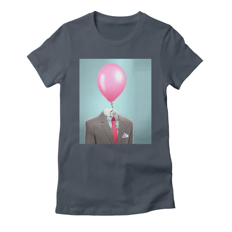 Balloon head and Flamingo shirt Women's T-Shirt by Vin Zzep's Artist Shop