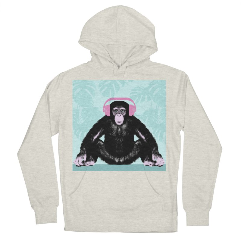 Jungle Music 2 Men's French Terry Pullover Hoody by Vin Zzep's Artist Shop