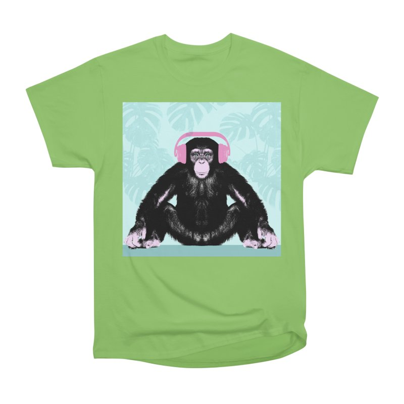 Jungle Music 2 Women's Heavyweight Unisex T-Shirt by Vin Zzep's Artist Shop
