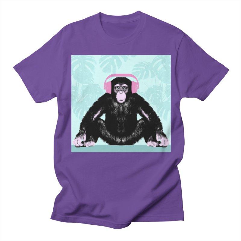 Jungle Music 2 Men's Regular T-Shirt by Vin Zzep's Artist Shop