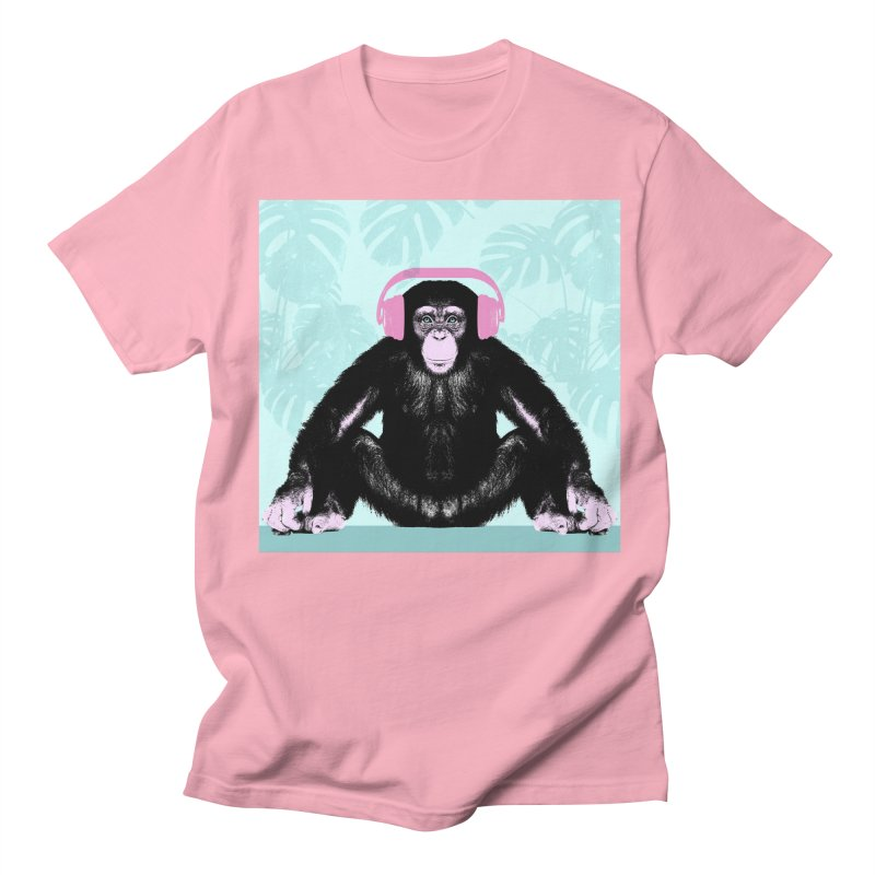 Jungle Music 2 Women's Regular Unisex T-Shirt by Vin Zzep's Artist Shop
