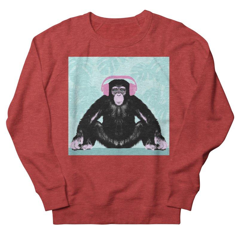 Jungle Music 2 Women's French Terry Sweatshirt by Vin Zzep's Artist Shop