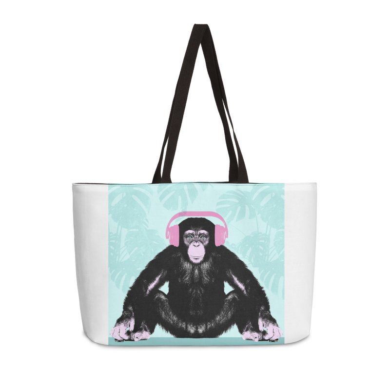 Jungle Music 2 Accessories Weekender Bag Bag by Vin Zzep's Artist Shop