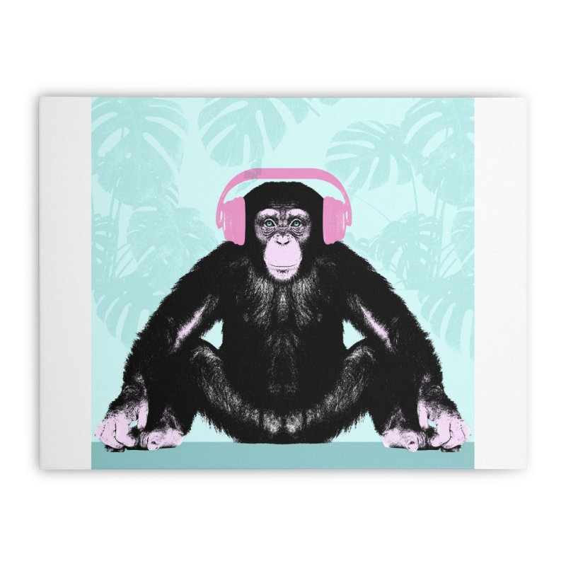 Jungle Music 2 Home Stretched Canvas by Vin Zzep's Artist Shop