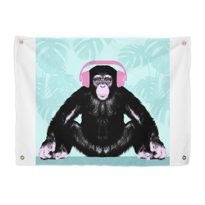 Jungle Music 2 Home Tapestry by Vin Zzep's Artist Shop