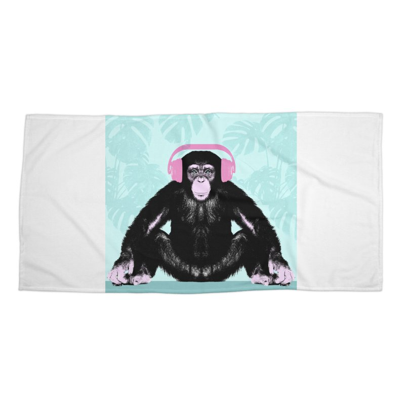 Jungle Music 2 Accessories Beach Towel by Vin Zzep's Artist Shop