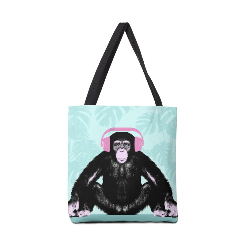 Jungle Music 2 Accessories Tote Bag Bag by Vin Zzep's Artist Shop