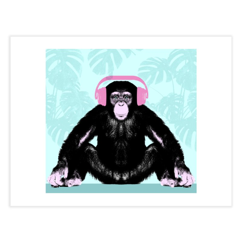 Jungle Music 2 Home Fine Art Print by Vin Zzep's Artist Shop