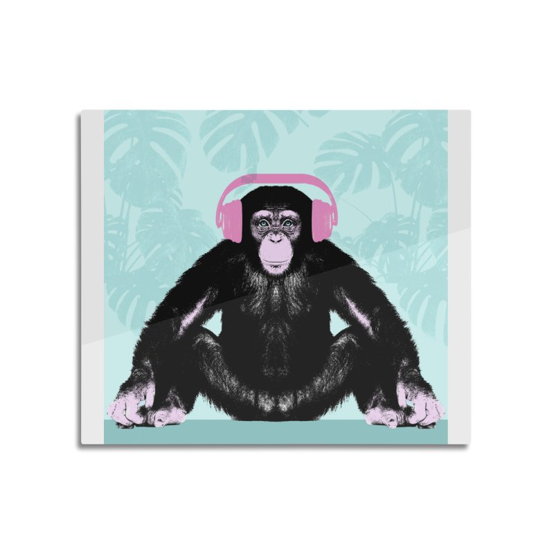 Jungle Music 2 Home Mounted Aluminum Print by Vin Zzep's Artist Shop