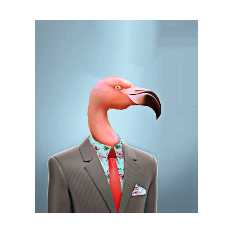 Flamingo Suit by Vin Zzep's Artist Shop