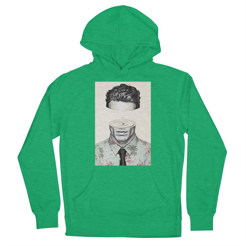 Head Space Women's French Terry Pullover Hoody by Vin Zzep's Artist Shop