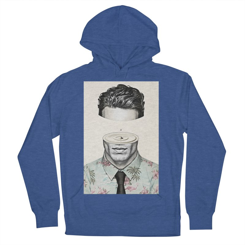 Head Space Men's French Terry Pullover Hoody by Vin Zzep's Artist Shop