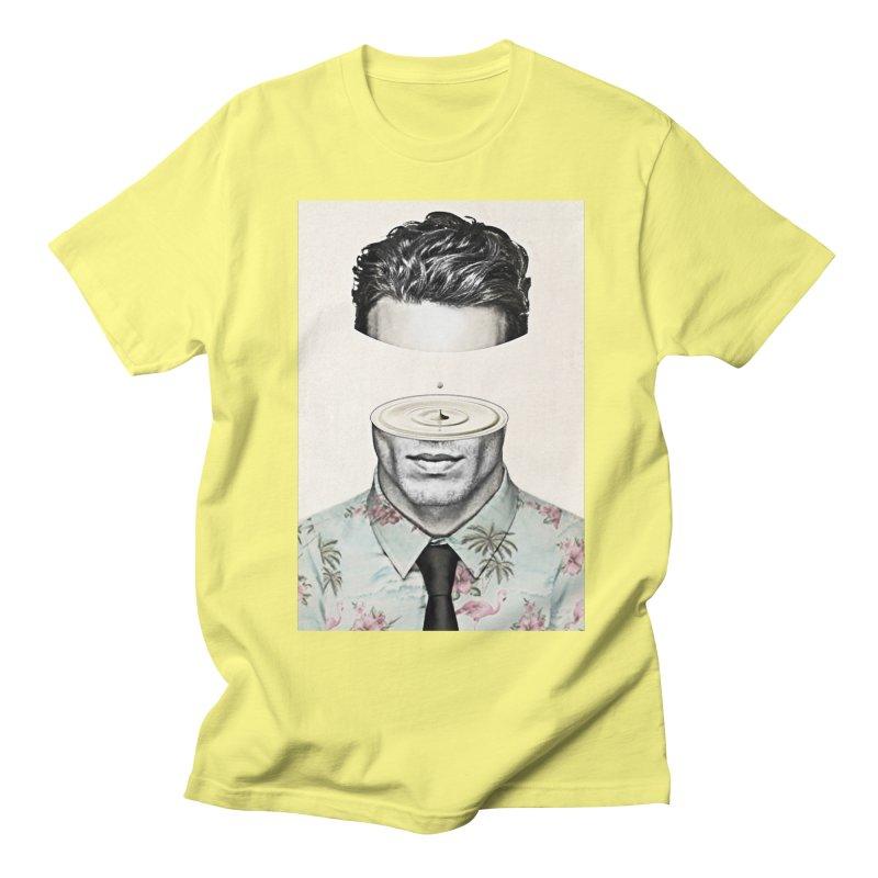 Head Space Men's Regular T-Shirt by Vin Zzep's Artist Shop