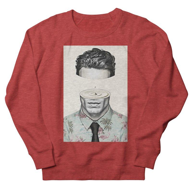Head Space Men's French Terry Sweatshirt by Vin Zzep's Artist Shop