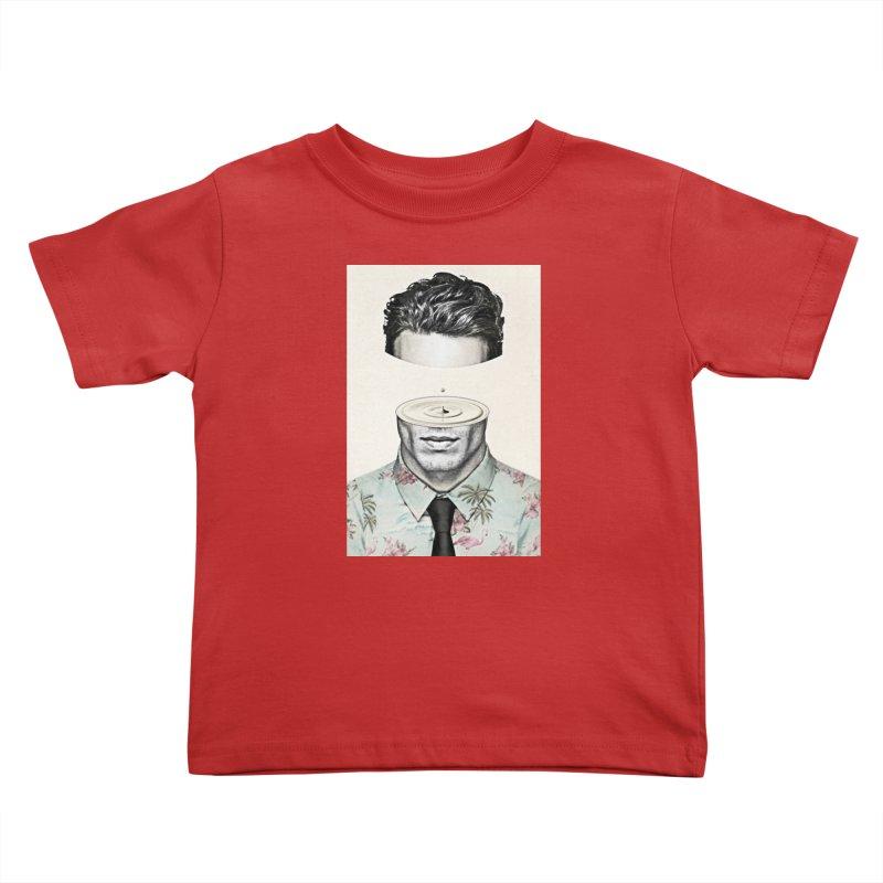 Head Space Kids Toddler T-Shirt by Vin Zzep's Artist Shop