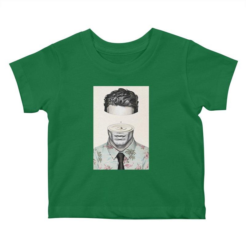 Head Space Kids Baby T-Shirt by Vin Zzep's Artist Shop