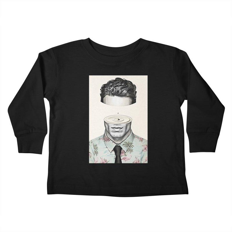 Head Space Kids Toddler Longsleeve T-Shirt by Vin Zzep's Artist Shop