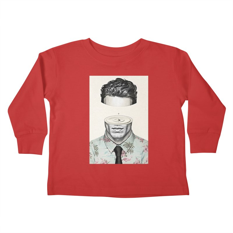 Head Space Kids Toddler Longsleeve T-Shirt by Vin Zzep's Artist Shop