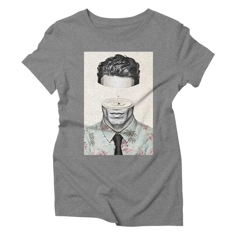Head Space Women's Triblend T-Shirt by Vin Zzep's Artist Shop