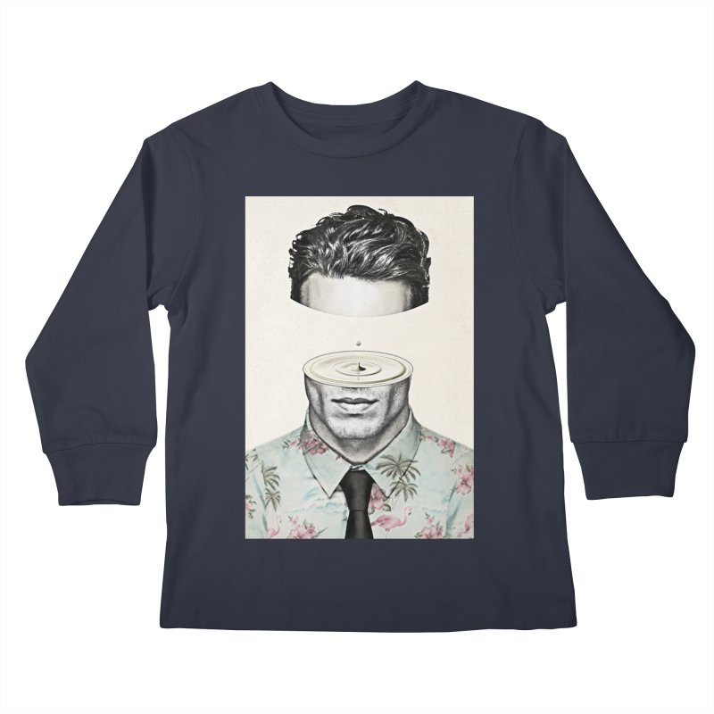 Head Space Kids Longsleeve T-Shirt by Vin Zzep's Artist Shop
