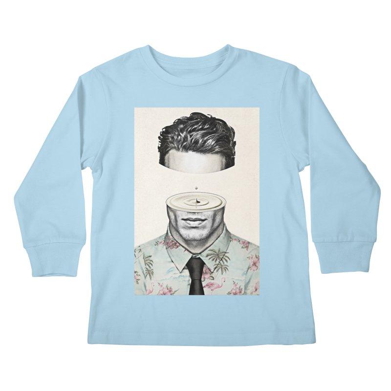 Head Space Kids Longsleeve T-Shirt by Vin Zzep's Artist Shop